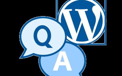 Fragen und Antworten zu WordPress