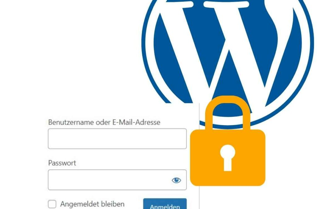 Wordpress Login WP Anmeldung